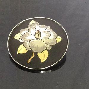 Japanese Amita sterling Silver